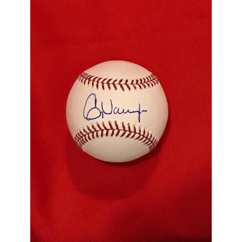 Photo of Greg Vaughn Autographed Baseball