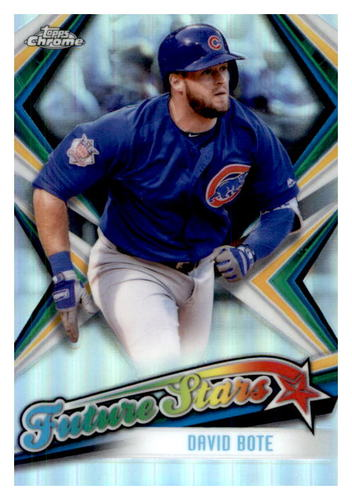 Photo of 2019 Topps Chrome Future Stars #FS4 David Bote