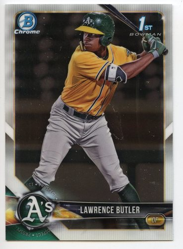 Photo of 2018 Bowman Chrome Draft #BDC4 Lawrence Butler