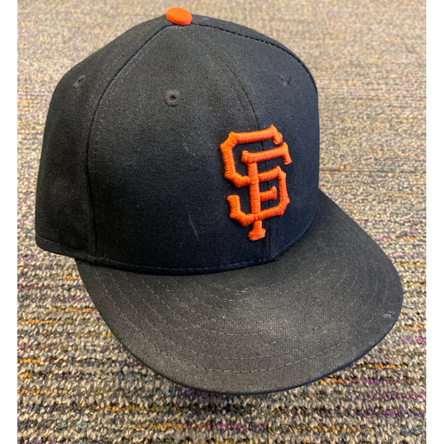 Photo of 2019 Team Issued Regular Season Cap - #57 Dereck Rodriguez - Size 7 3/8