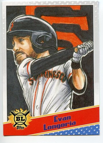 Photo of 2020 Topps Big League Star Caricature Reproductions #SCOEL Evan Longoria