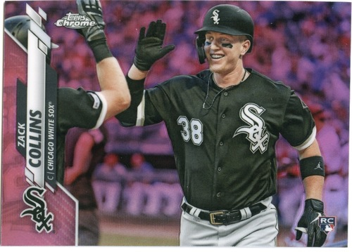 Photo of 2020 Topps Chrome Pink Refractors #87 Zack Collins