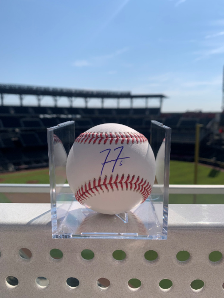 Reigning N.L. MVP Freddie Freeman Autographed and Authenticated Baseball
