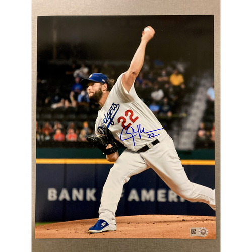 Photo of Clayton Kershaw Authentic Autographed Photograph