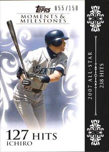 Photo of 2008 Topps Moments and Milestones #63-127 Ichiro Suzuki