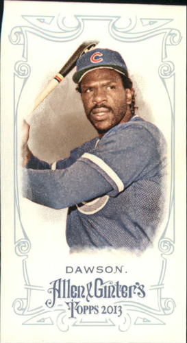 Photo of 2013 Topps Allen and Ginter Mini A and G Back #232 Andre Dawson