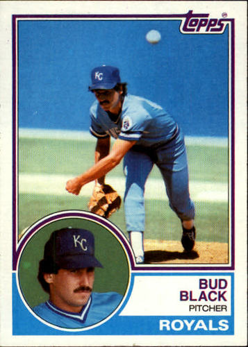Photo of 1983 Topps #238 Bud Black RC
