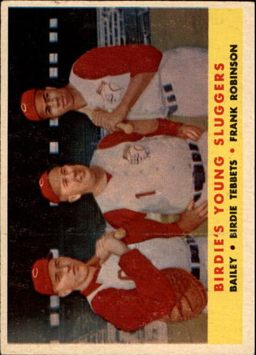 Photo of 1958 Topps #386 Birds Young Sluggers/Ed Bailey/Birdie Tebbetts MG/Frank Robinson