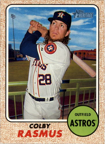 Photo of 2017 Topps Heritage #260 Colby Rasmus
