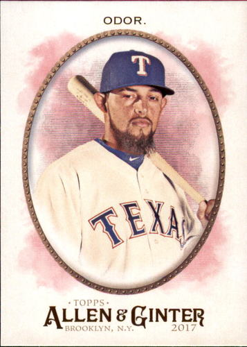 Photo of 2017 Topps Allen and Ginter #229 Rougned Odor