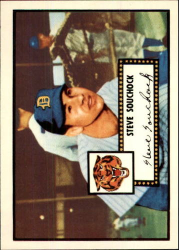 Photo of 1983 Topps 1952 Reprint #234 Steve Souchock