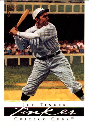 Photo of 2003 Topps Gallery HOF #19 Joe Tinker  -- Hall of Fame Class of 1946