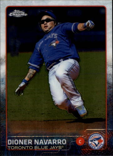 Photo of 2015 Topps Chrome #70 Dioner Navarro