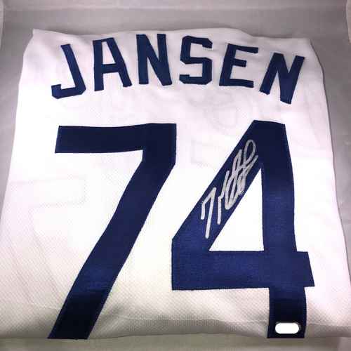 Photo of Kenley Jansen Authentic Autographed Los Angeles Dodgers Jersey
