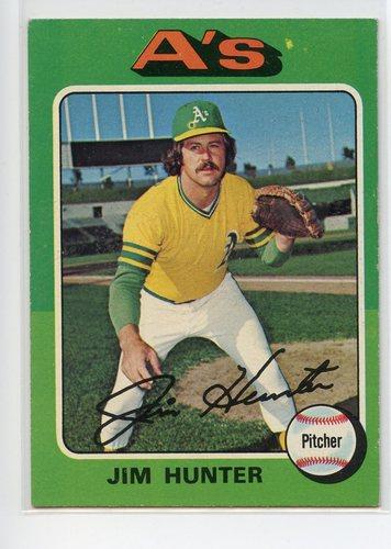 Photo of 1975 Topps #230 Jim Hunter