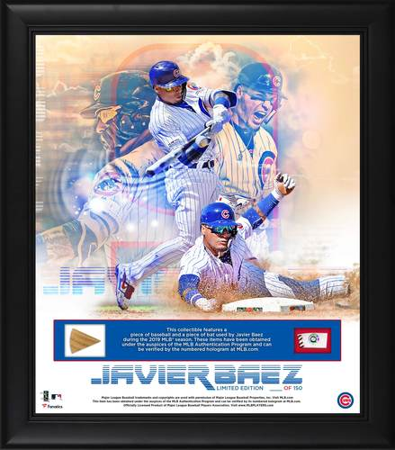 Photo of Javier Baez Plaque