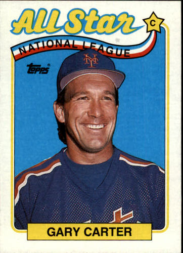 Photo of 1989 Topps #393 Gary Carter AS