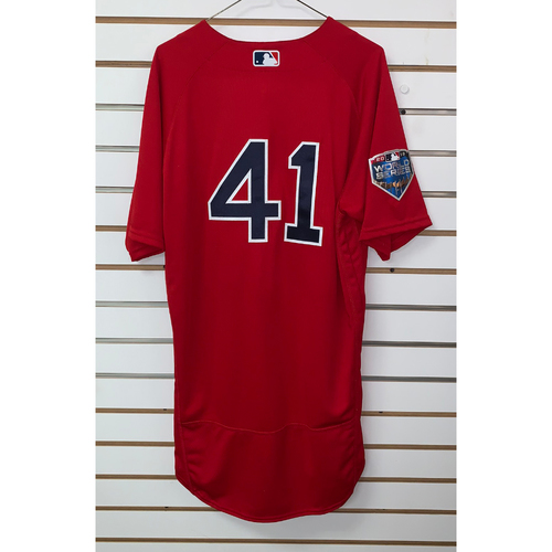 Photo of Chris Sale Team Issued 2018 World Series Home Alternate Jersey
