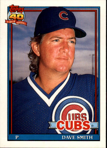Photo of 1991 Topps Traded #110T Dave Smith