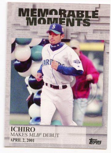 Photo of 2017 Topps Memorable Moments #MM11 Ichiro