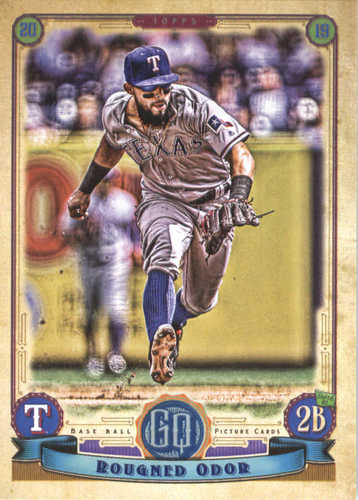 Photo of 2019 Topps Gypsy Queen #282 Rougned Odor