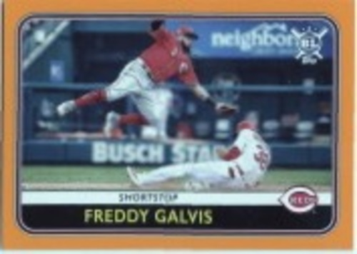 Photo of 2020 Topps Big League Orange #231 Freddy Galvis