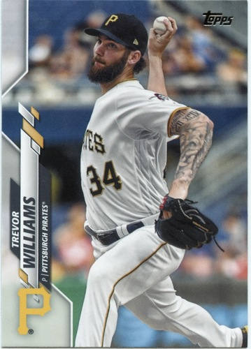 Photo of 2020 Topps #561 Trevor Williams