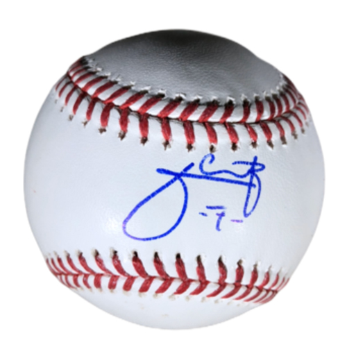 Photo of Julio Urias Authentic Autographed Baseball