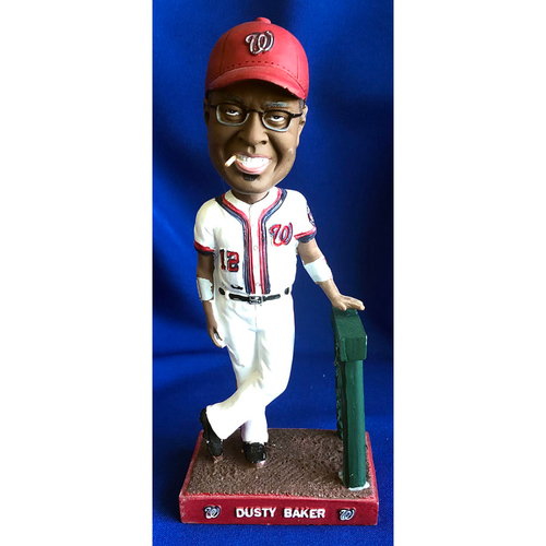 Photo of UMPS CARE AUCTION: Dusty Baker Nationals Bobblehead