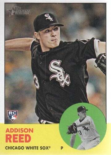 Photo of 2012 Topps Heritage #223 Addison Reed