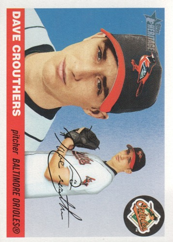Photo of 2004 Topps Heritage #64 Dave Crouthers RC