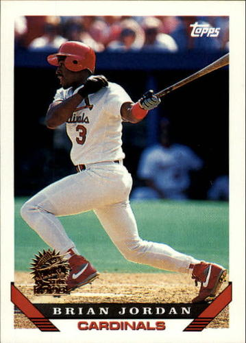 Photo of 1993 Topps Inaugural Marlins #754 Brian Jordan