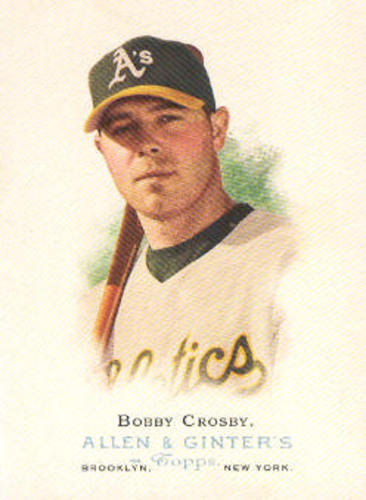 Photo of 2006 Topps Allen and Ginter #91 Bobby Crosby