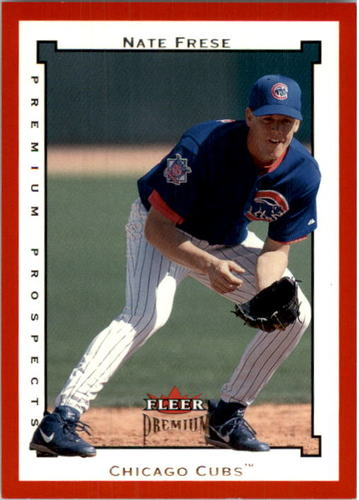 Photo of 2002 Fleer Premium Star Ruby #216 Nate Frese PROS
