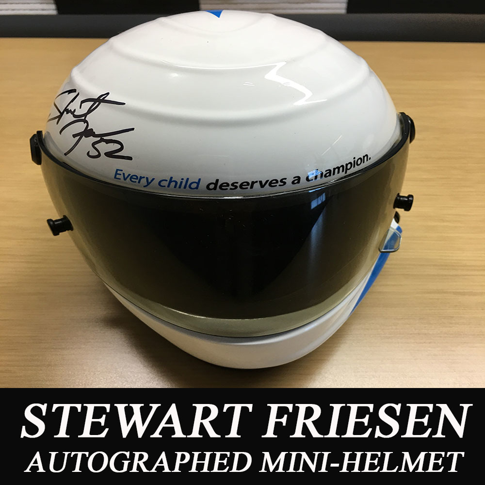 NASCAR's Stewart Friesen Autographed NASCAR Foundation Helmet!
