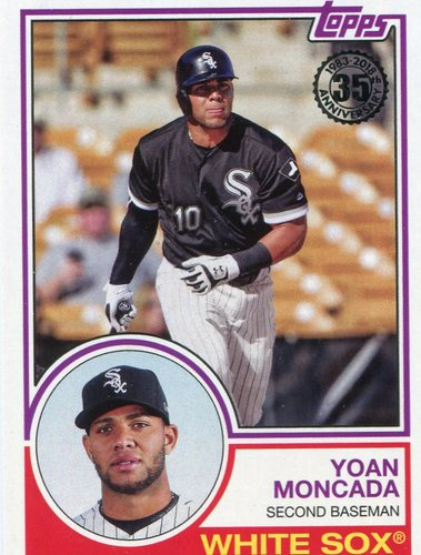 Photo of 2018 Topps '83 Topps #8359 Yoan Moncada