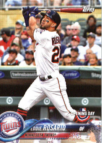 Photo of 2018 Topps Opening Day #174 Eddie Rosario
