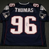 Patriots - Adalius Thomas signed authentic Patriots jersey - size 50