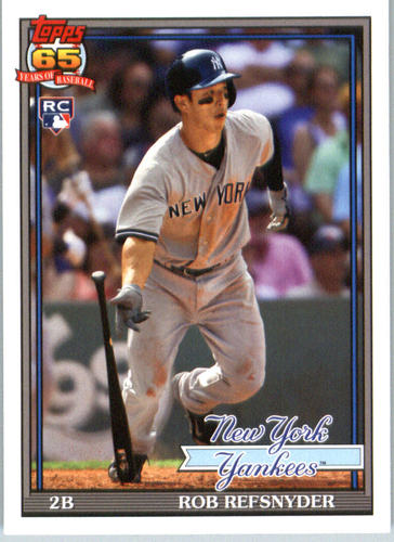 Photo of 2016 Topps Archives #241 Rob Refsnyder RC