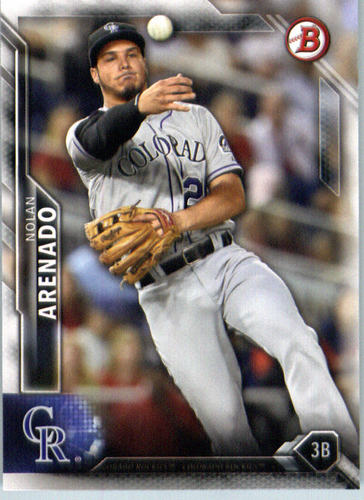 Photo of 2016 Bowman #32 Nolan Arenado