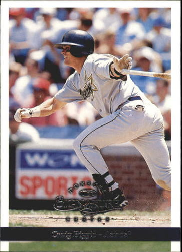 Photo of 1997 Donruss Signature #76 Craig Biggio