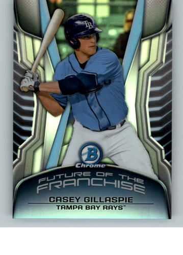 Photo of 2014 Bowman Chrome Draft Future of the Franchise Mini #FFCG Casey Gillaspie