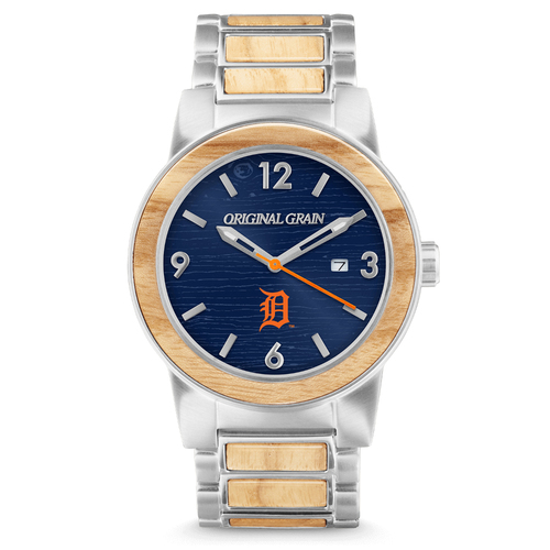 Photo of Detroit Tiger Reclaimed Baseball Bat Watch