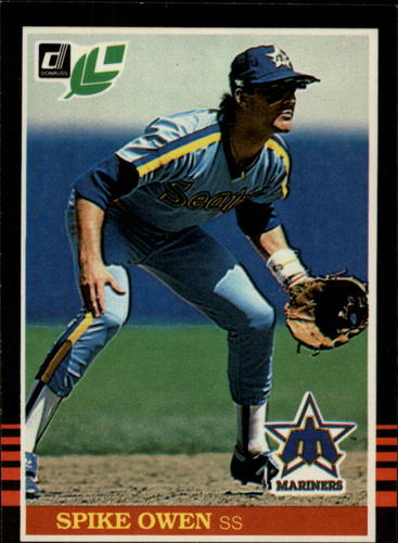 Photo of 1985 Leaf/Donruss #167 Spike Owen