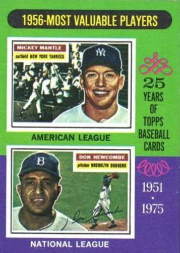 Photo of 1975 Topps #194 Mickey Mantle/Don Newcombe MVP