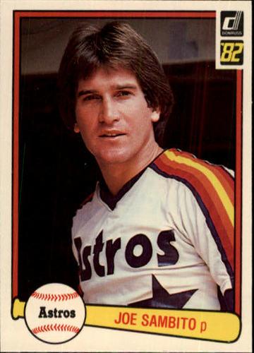 Photo of 1982 Donruss #65 Joe Sambito