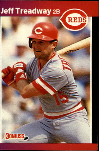Photo of 1989 Donruss #351 Jeff Treadway