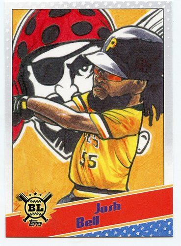 Photo of 2020 Topps Big League Star Caricature Reproductions #SCOJBE Josh Bell
