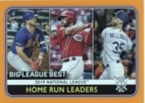 Photo of 2020 Topps Big League Orange #236 Pete Alonso/Cody Bellinger/Eugenio Suarez LL