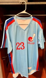 Photo of Jacksonville Expos Fauxback Jersey #23 Size 46